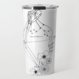 // Sagittarius // Travel Mug