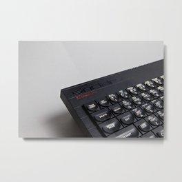 ZX Spectrum+ Metal Print