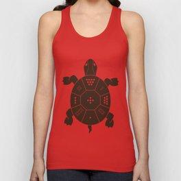 Lo Shu Turtle Unisex Tank Top