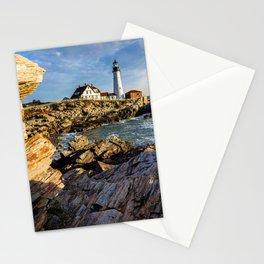 Cape Elizabeth Lighthouse New England Stationery Cards