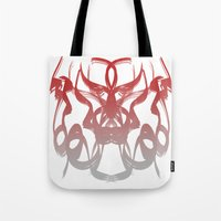destiny Tote Bags featuring destiny by Glossy Eyes
