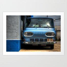 'Ford Falcon Club Wagon' Art Print