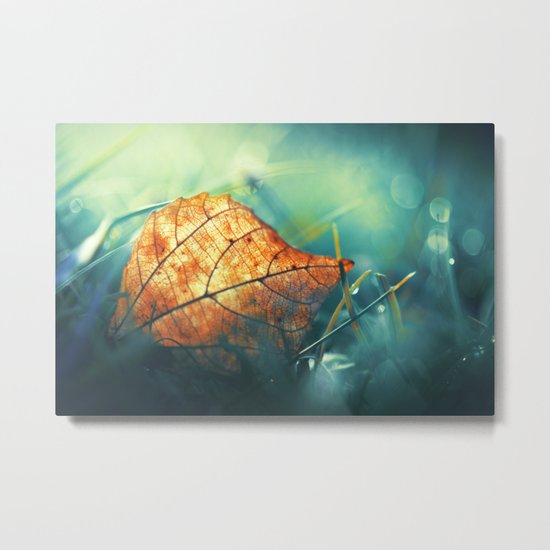 Autumn Gift Metal Print