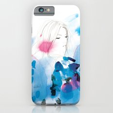 Into the deep blue night Slim Case iPhone 6s
