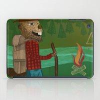 oregon iPad Cases featuring Oregon by Santiago Uceda