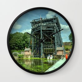 Anderton Boat Lift Wall Clock