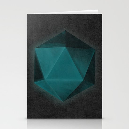 spatial geometry Stationery Cards