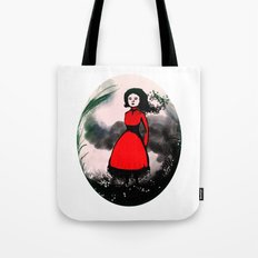 The wind is coming Tote Bag