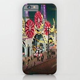 Luna Park Coney Island Amusement Park, New York, New York Portrait iPhone Case