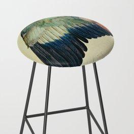 Albrecht Durer - Wing Of A Blue Roller Bar Stool