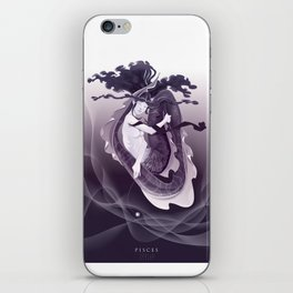 PISCES, 12th zodiacal sign. iPhone Skin