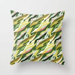 Gorgeous  Green Military Throw Pillow