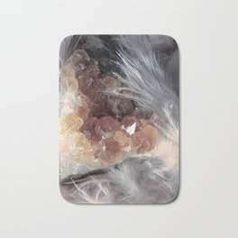 Citrine & Feathers Bath Mat