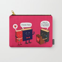 Fully Booked Carry-All Pouch