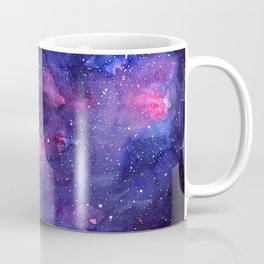 Galaxy Pattern Watercolor Coffee Mug