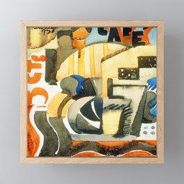 Fermin Revueltas Five Cent Cafe Framed Mini Art Print