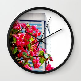 Harbor Spring Wall Clock