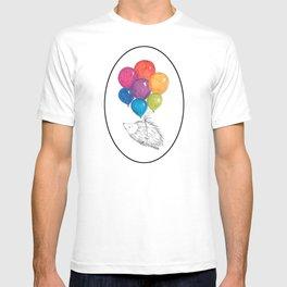 Soar - Rainbow Balloon Hedgehog T-shirt