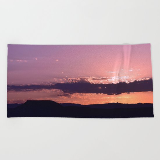 Southwest Sunrise - III Beach Towel