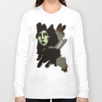 witchcraft Long Sleeve T-shirts featuring Wise in Witchcraft by Ben Geiger
