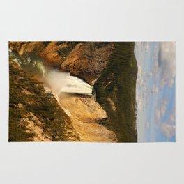 Majestic Yellowstone Upper Falls Rug