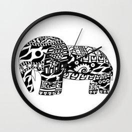 Mr elephant ecopop Wall Clock