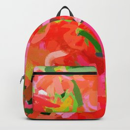Preconceived Blossom #abstract #painting Backpack