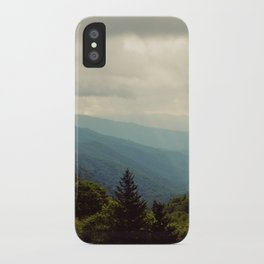 THE LIGHT THROUGH THE CLOUDS iPhone Case