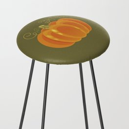 Pumpkin Counter Stool