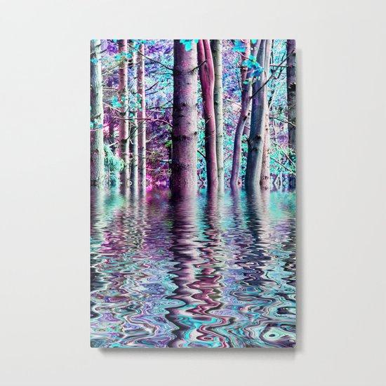 PEACE TREE-TY Metal Print