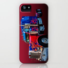 American Truck Red iPhone Case
