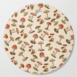 Magical Mushrooms Cutting Board