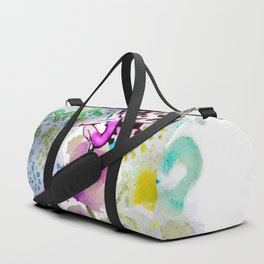 Butterfly Lady Duffle Bag