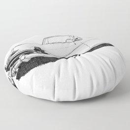50 Futuramic Floor Pillow