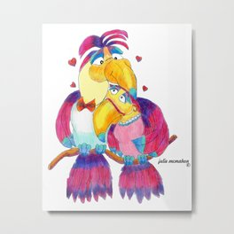 Animals - You Toucan Love Metal Print