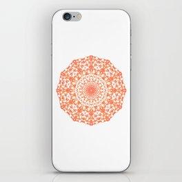 Mandala 12 / 4 eden spirit orange iPhone Skin