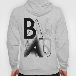 History of Art in Black and White. Bauhaus Hoody