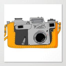 Kiev Camera Canvas Print