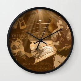 The Champ: Ali Wall Clock