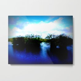 Shrubs Metal Print