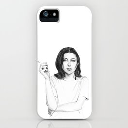 Joan Didion iPhone Case