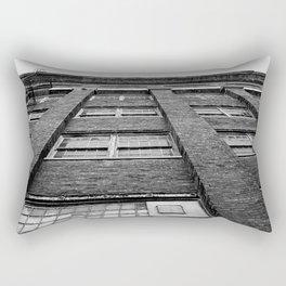 Warehouse bw Rectangular Pillow