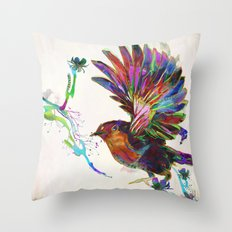 Once Again Throw Pillow