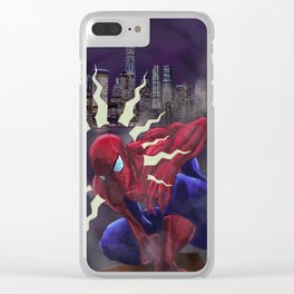 Spidey Sense Clear iPhone Case