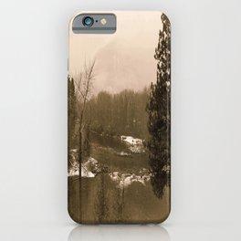 Washington Christmas Landscape iPhone Case