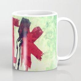 Writing Fuck Coffee Mug