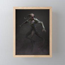 Swamp Demon Framed Mini Art Print