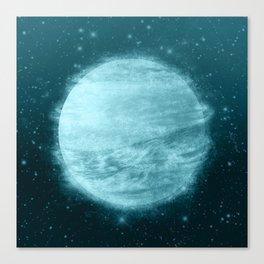 Ice Planet Canvas Print