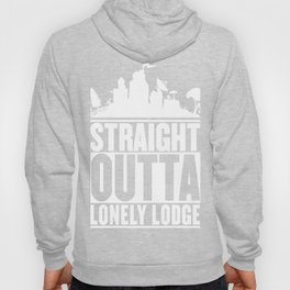 STRAIGHT OUTTA LONELY LODGE T-Shirt Hoody