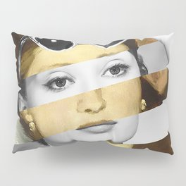 Manet's Olympia & Audrey Hepburn Pillow Sham